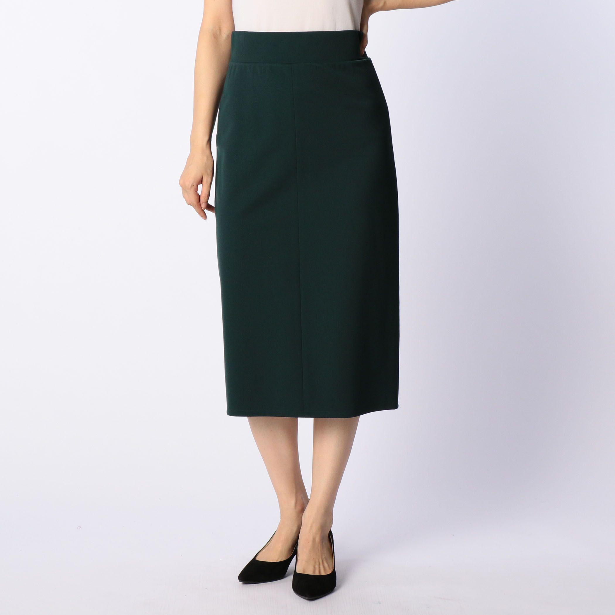 NOLLEY'Ssophiノーリーズソフィー/ツイルインゴムタイトスカート