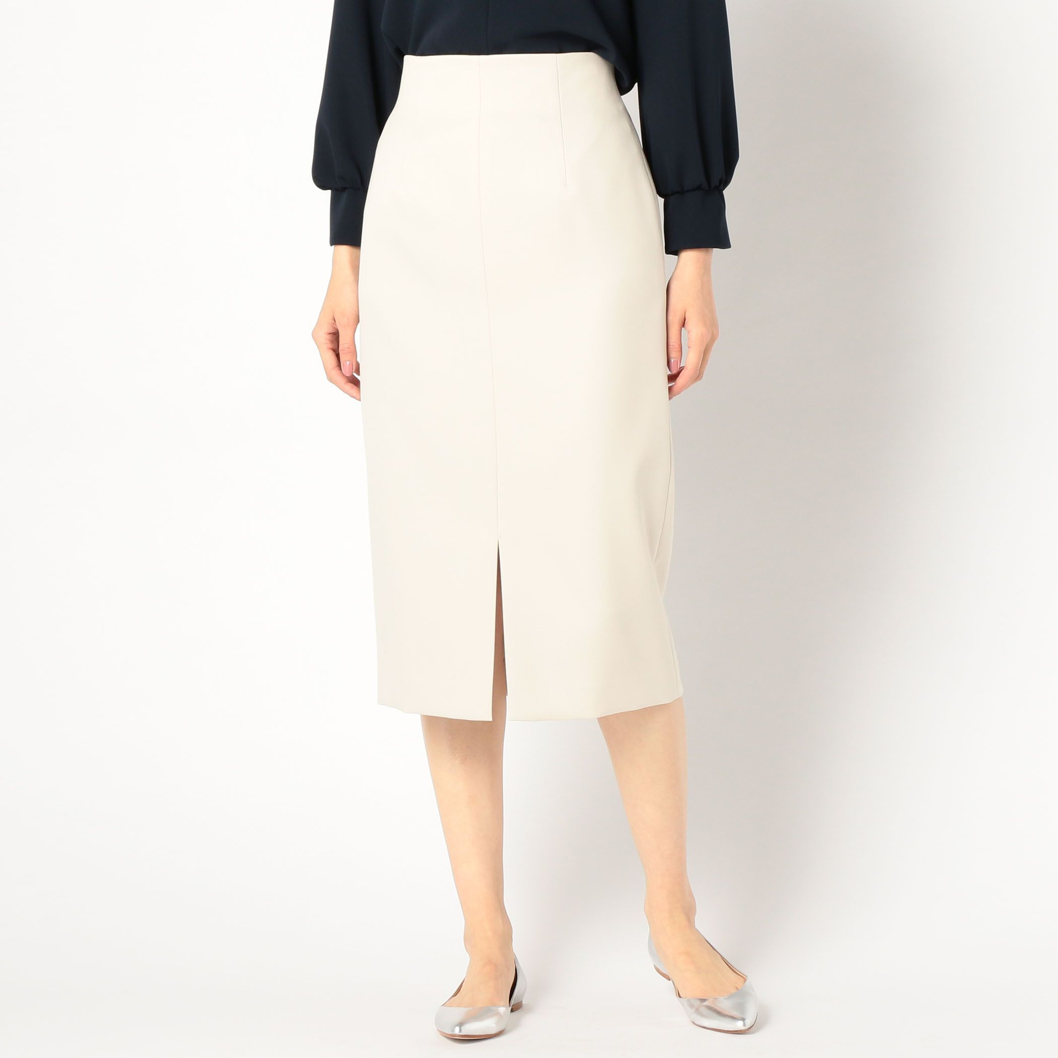 NOLLEY'S sophiノーリーズソフィー/ハイウエストロングタイトスカート