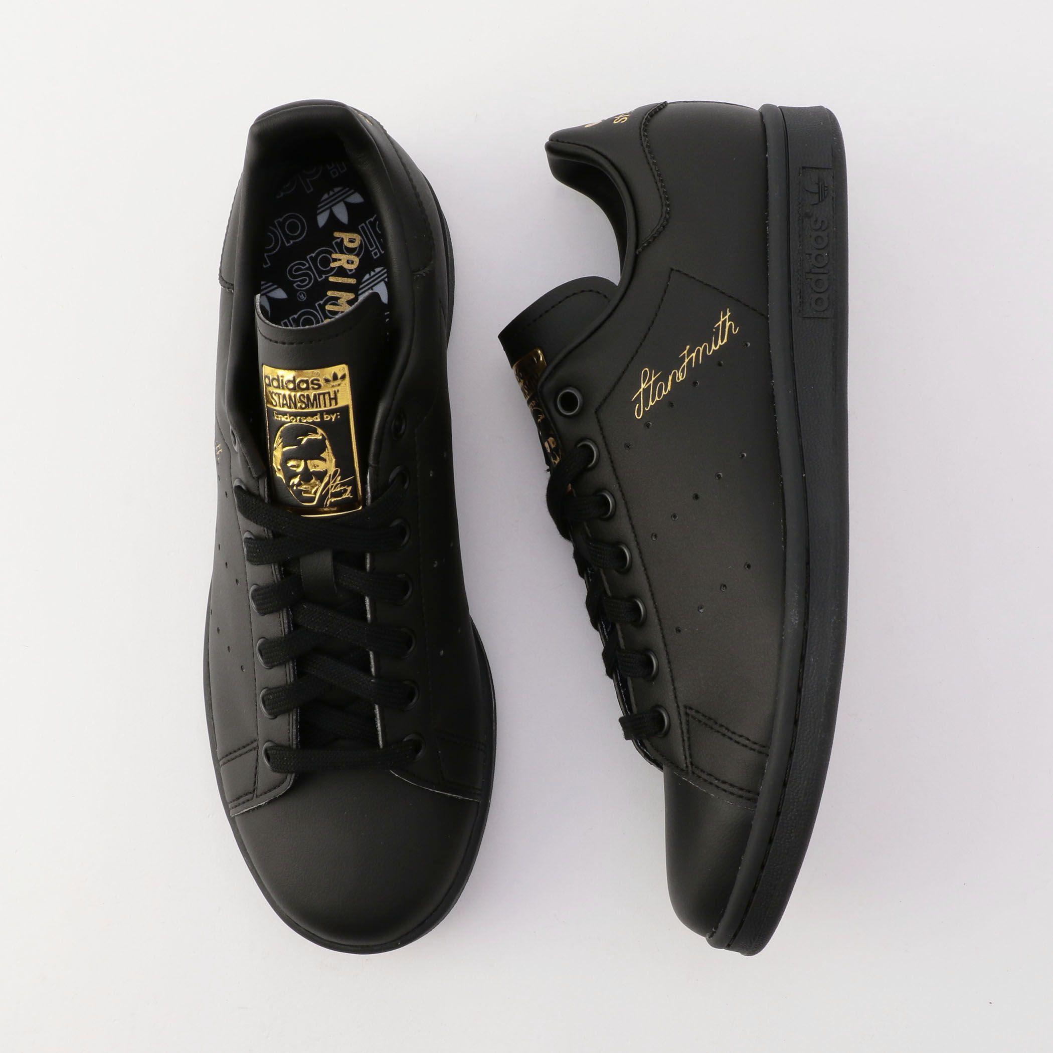 NOLLEY'S goodman(ノーリーズグッドマン)/【adidas/アディダス】STAN SMITH BLK スタンスミス PRIME GREEN #S75075