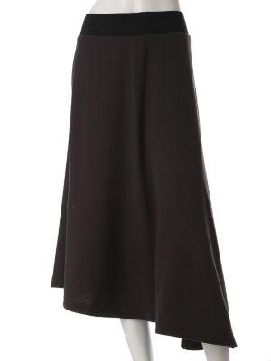 バックロングパイルスカート