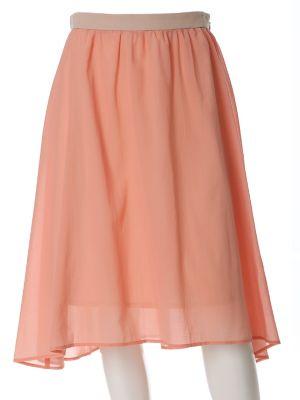 《ef-de》シースルーシフォンスカート
