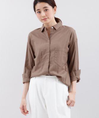 バックロングシャツ【FUDGE10月号掲載】