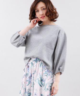 ワイドスリーブカットソー【春セール】