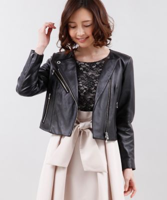 【春の新作】《Maglie collection》ラムレザージャケット