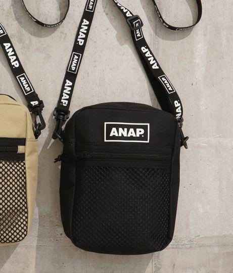 ANAP(アナップ)/ANAPロゴサコッシュ
