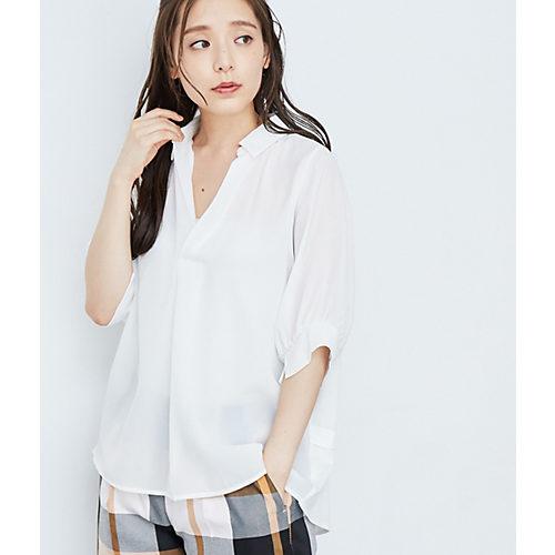 ROPE' PICNIC/ボリューム袖スキッパーシャツ/¥1,990+税