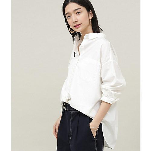 ADAM ET ROPE'/タイプライターオーバーシャツ/¥13,000+税