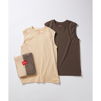 【Hanes for BIOTOP】Sleeveless T-Shirts/color/ADAM ET ROPE'