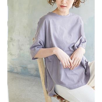 【ORGANIC COTTON】バックシャンTシャツ/ROPE' PICNIC