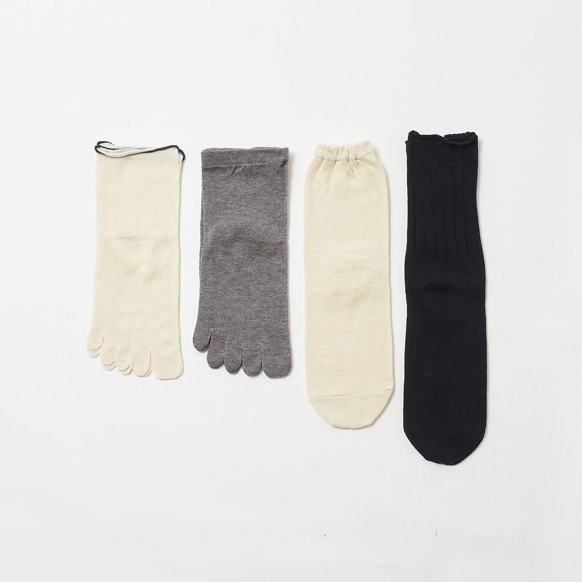 collex(コレックス)/《冷えとり》4足重ね履き靴下