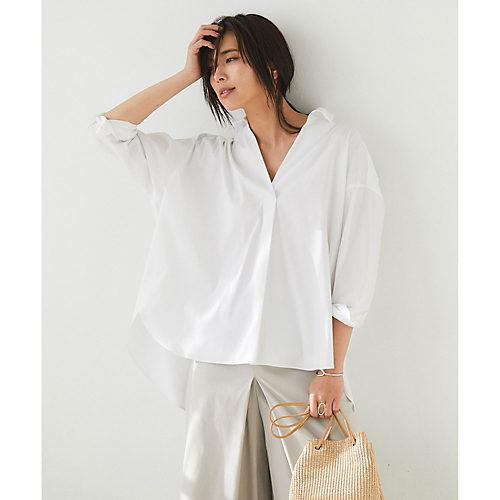 GALLARDAGALANTE/スキッパーボックスシャツ/¥19,000+税