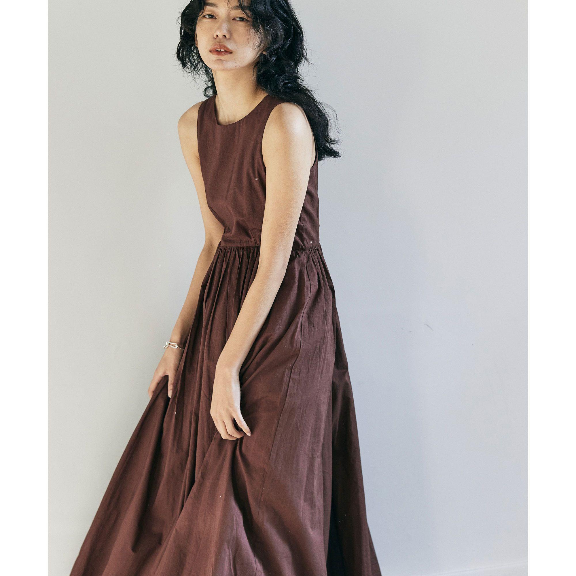 GALLARDAGALANTE(ガリャルダガランテ)/【MARIHA】コットンロングワンピース/夏のレディのドレス<別注カラーあり>