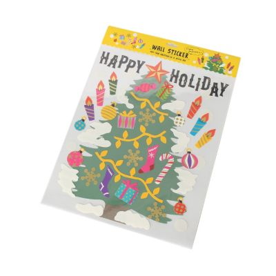 <集英社> クリスマスウォールステッカー