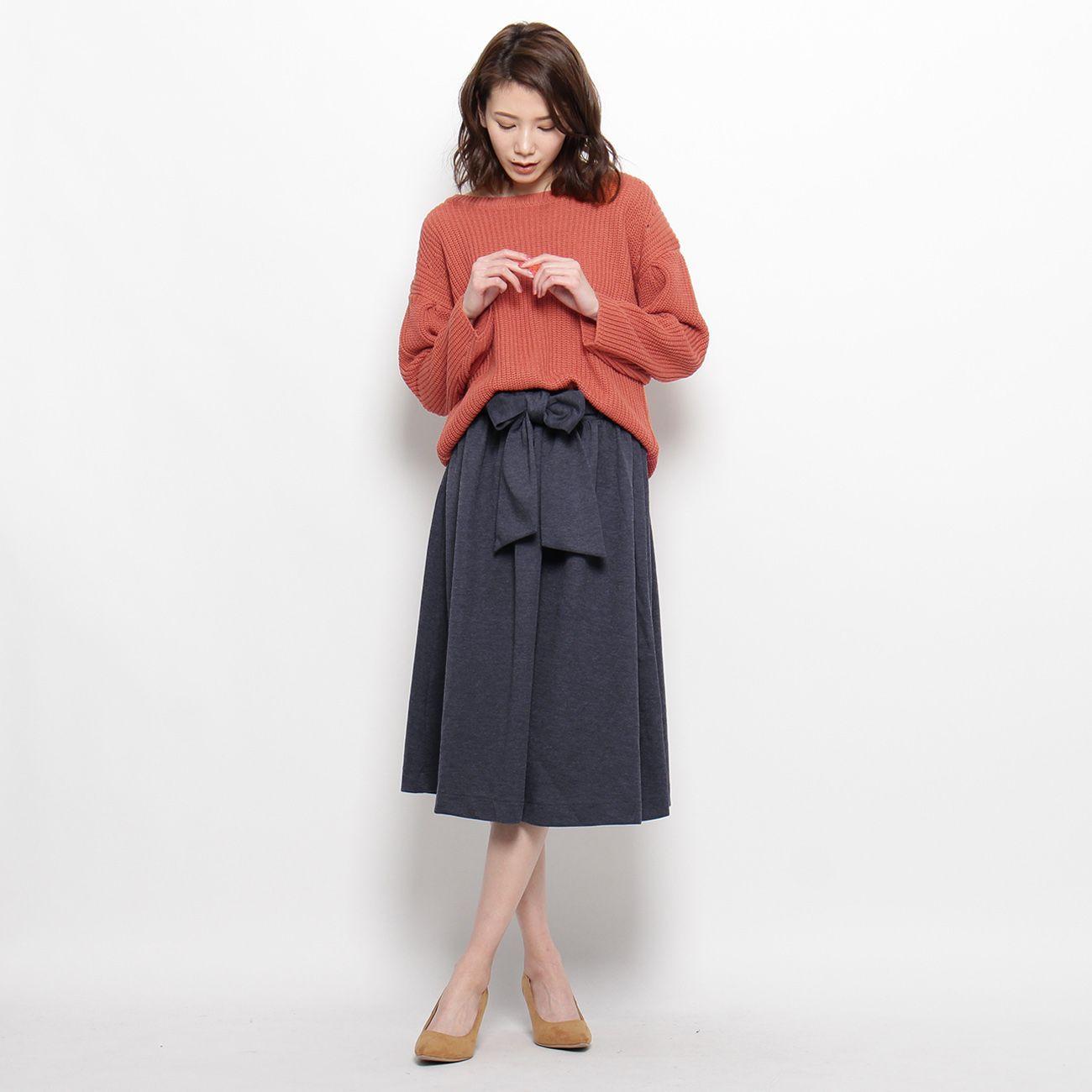 <集英社> プルオーバー&スカートセット画像