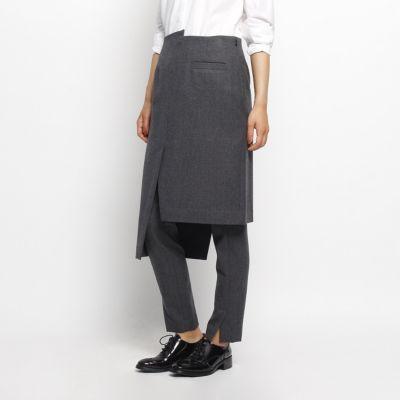 アシンメトリーデザインスカート