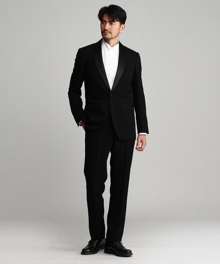 <集英社> ◆タキシードクロスシングルスーツ[ メンズ スーツ 結婚式 ]画像