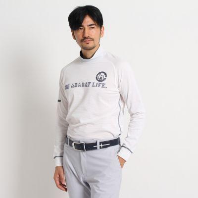 ハイネック長袖シャツ