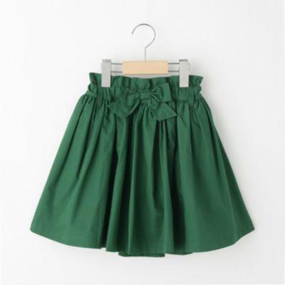 インパンツ付ハイウエスト風カラースカート