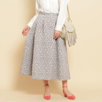 【steady3月号掲載】ミニバラジャカードスカート