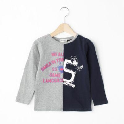 天竺リメイク風Tシャツ