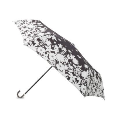 ecause晴雨兼用シルエットフラワー折り畳み傘
