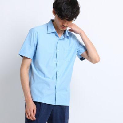 <集英社> ミニヘリンボンシャツ[ メンズ トップス シャツ ジャージ 半袖 吸汗速乾 ]画像