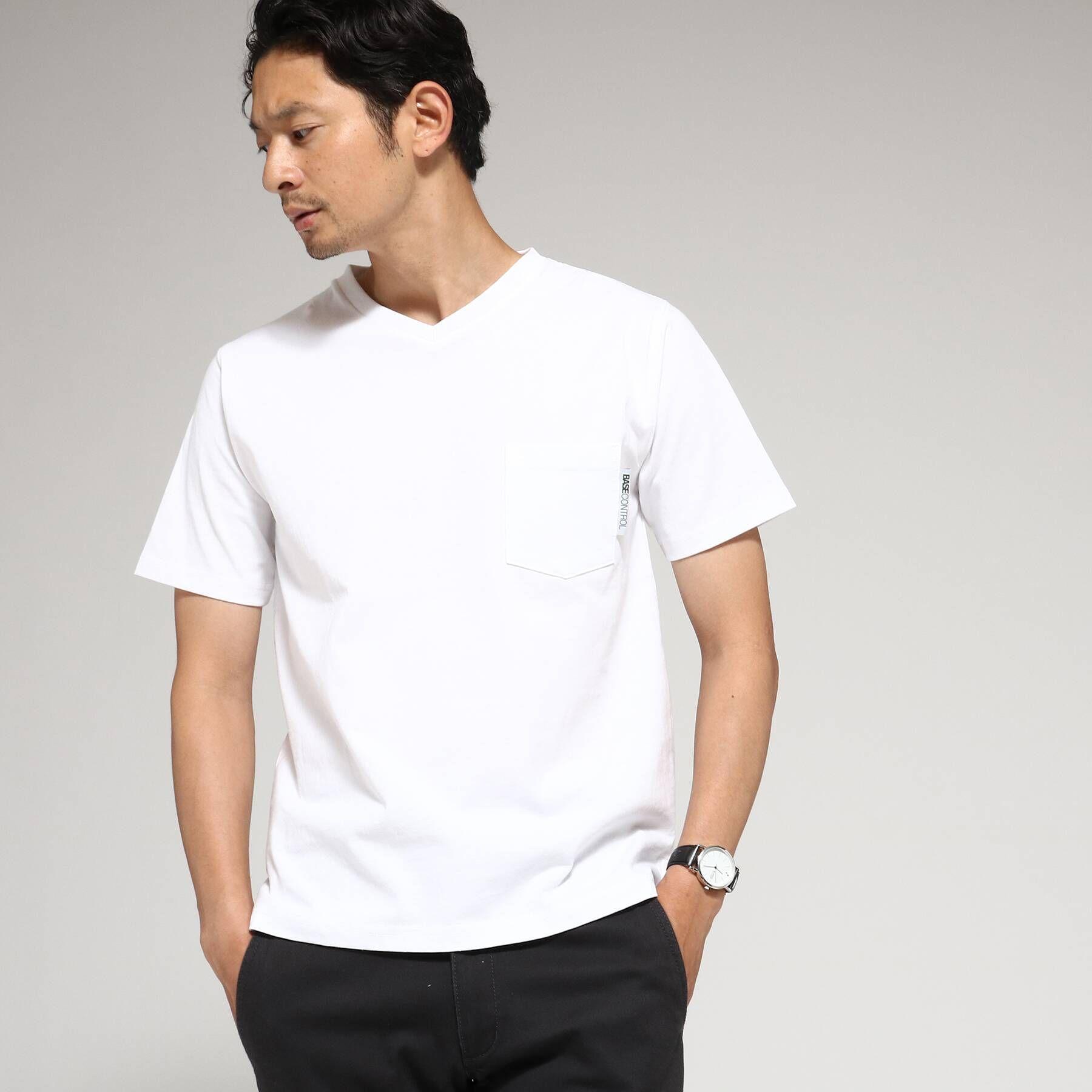 Tシャツ メンズ Vネック WEB限定