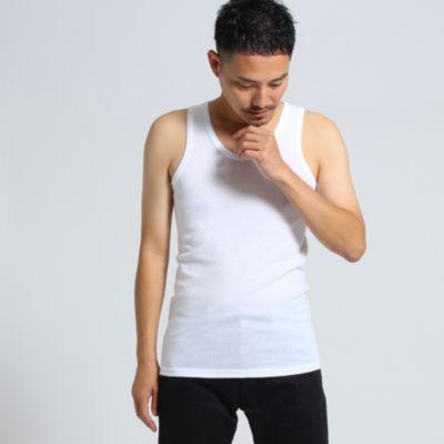 <集英社>【 日本製 】 ベーシックインナータンクトップ [ メンズ トップス タンクトップ ベーシック ]画像