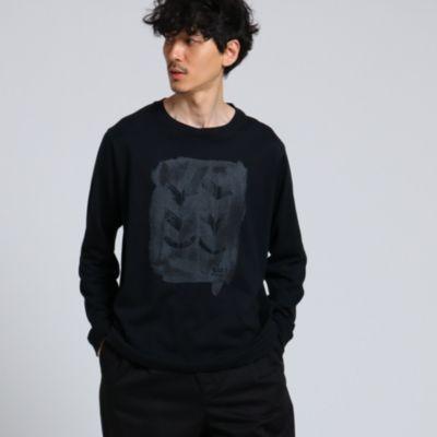 <集英社> 「合わせ鷹の羽」ロングスリーブTシャツ[ メンズ ロンT コラボ ]