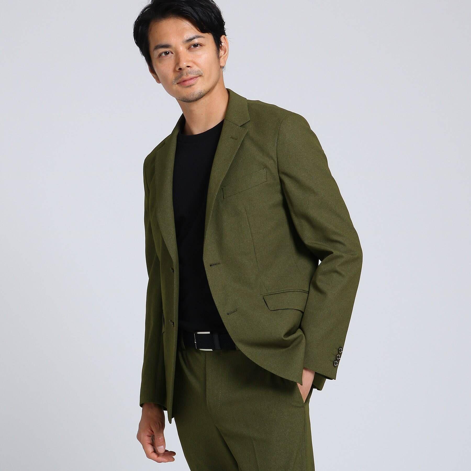 集英社 HAPPY PLUS STOREで買える「TAKEO KIKUCHI(タケオキクチ:メンズ/テックストレッチ メランジ ジャケット」の画像です。価格は37,400円になります。
