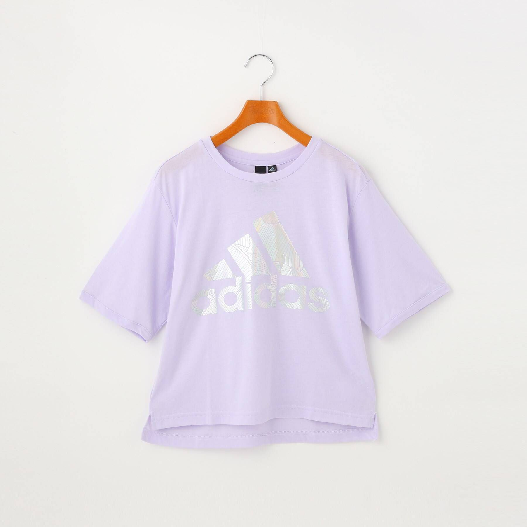 PINK-latte(ピンクラテ)/ メタリックロゴTシャツ