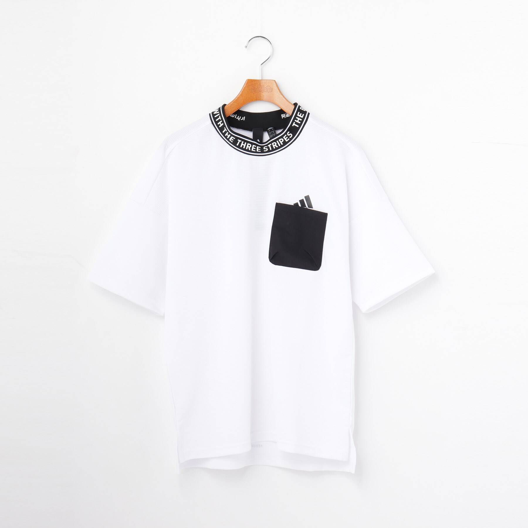 PINK-latte(ピンクラテ)/ ワッフル半袖Tシャツ