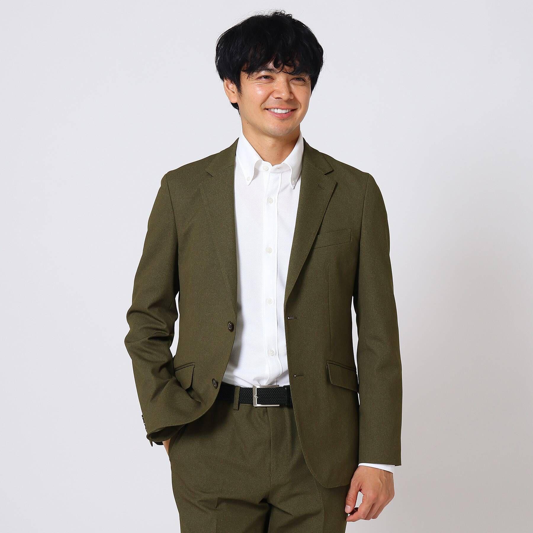 集英社 HAPPY PLUS STOREで買える「TAKEO KIKUCHI(タケオキクチ:メンズ/【Sサイズ?】4WAYテックストレッチジャケット」の画像です。価格は19,800円になります。