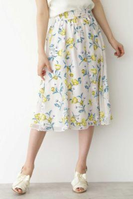 ディボアティーローズスカート