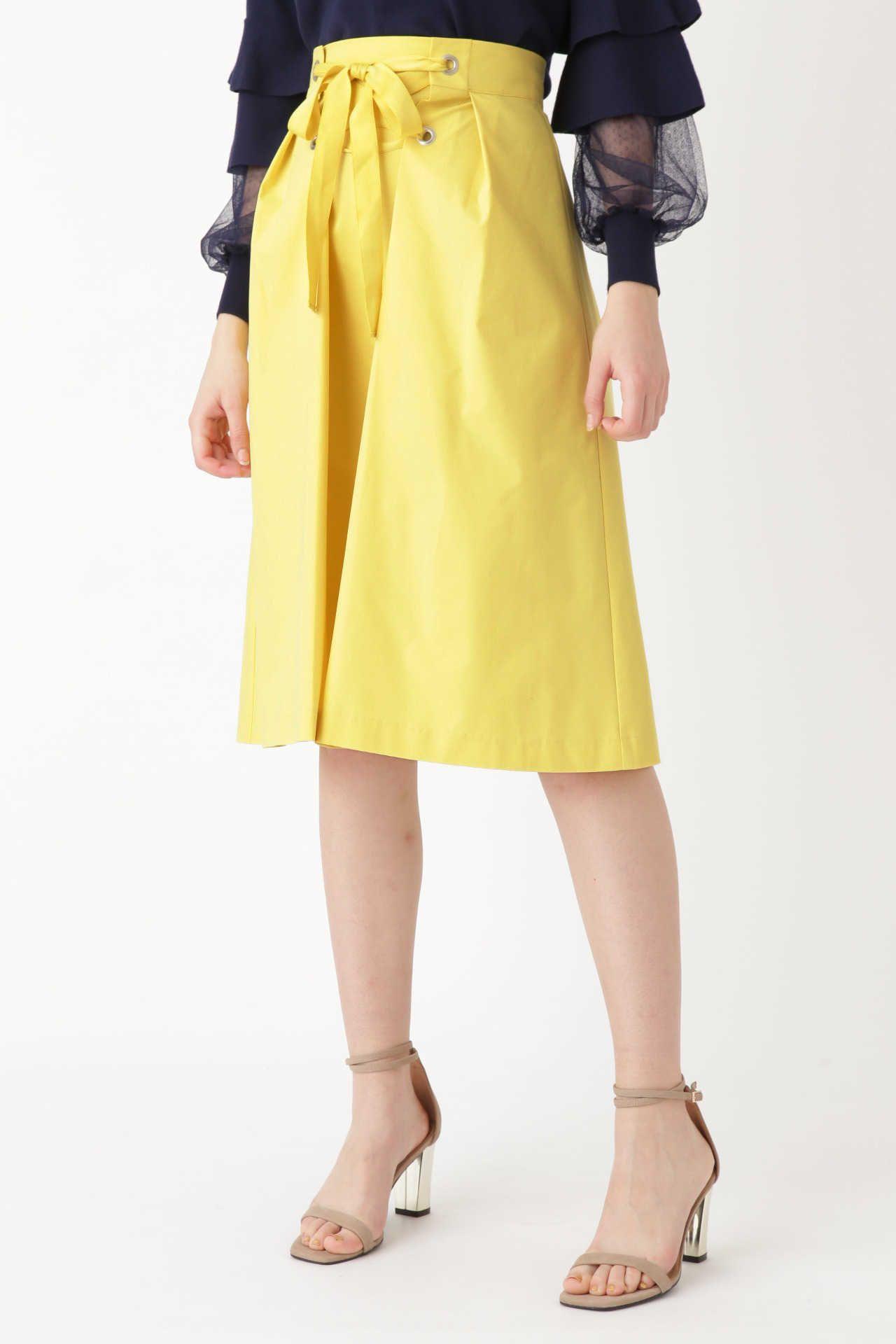 <集英社> JILLSTUART(ジルスチュアート)/◆ローザレースアップスカート