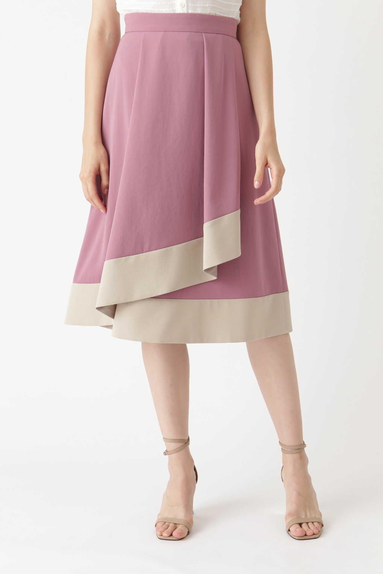 <集英社> JILLSTUART(ジルスチュアート)/ロージーラップ風スカート