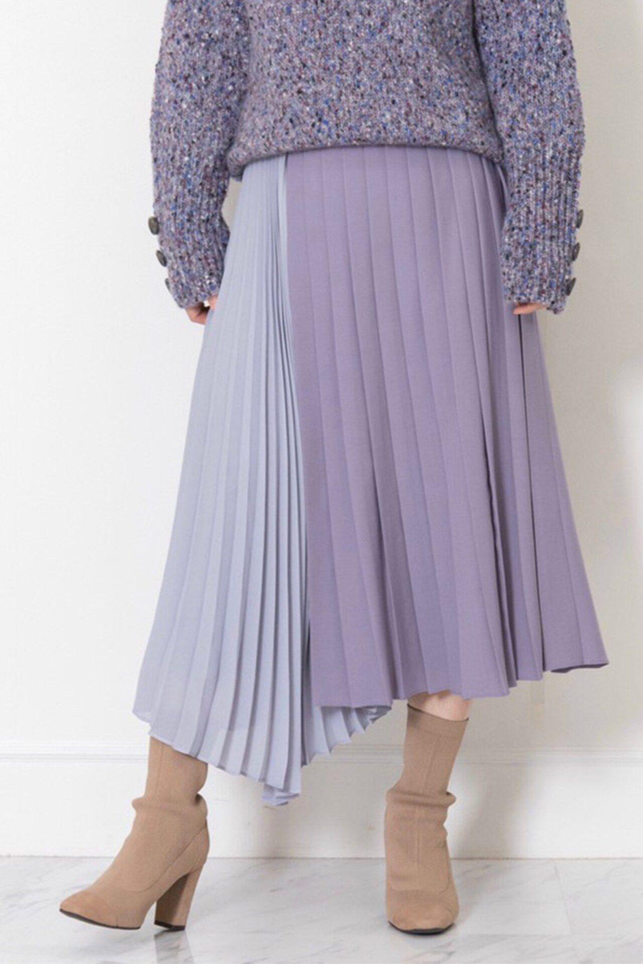 <集英社> JILLSTUART(ジルスチュアート)/メリルイレヘムプリーツスカート