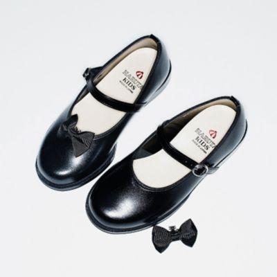 【HARUTA(ハルタ)】KIDSリボストラップシューズ
