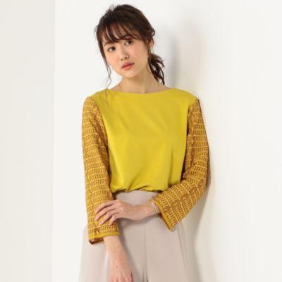 <closet story> ソデ キカガクレース プルオーバー