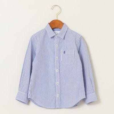 <集英社>【キッズ】ストライプ&チェックシャツ