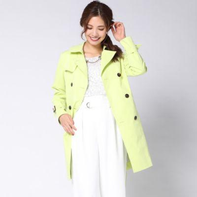 【撥水&花粉ガード&UVカット】ベーシックトレンチ