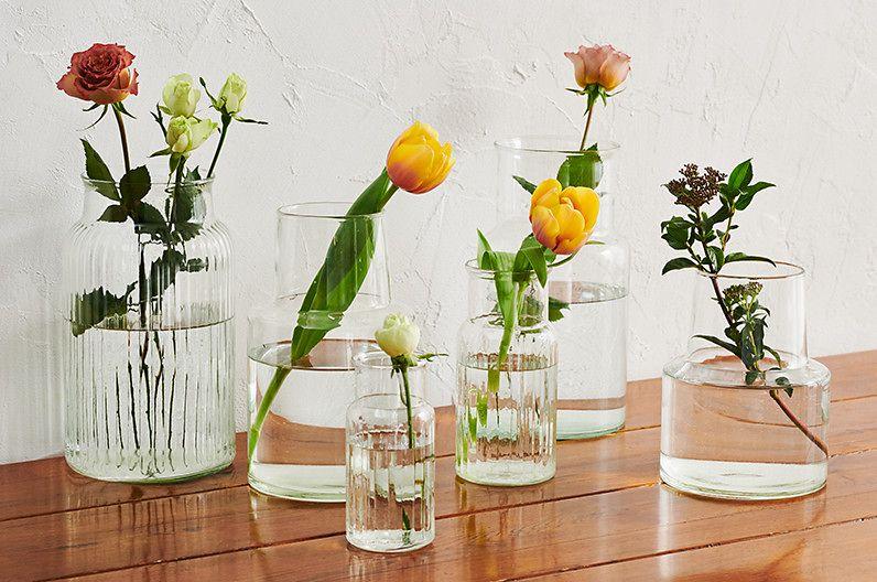 【インテリア雑貨特集】Recreational Vehicle リューズガラス   お花が映えるガラスのフラワーベース