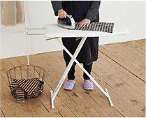 【インテリア雑貨特集】COLLEND コレンド アイアンレッグラック 2段   鉢植えを並べるのにちょうどよいサイズ感のインテリア家具