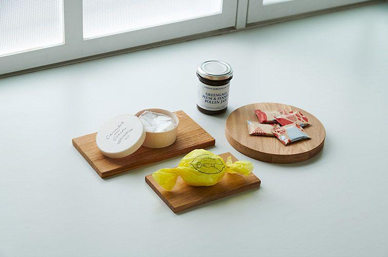 【インテリア雑貨特集】CINQ 木のプレート 丸 | Cinqのオリジナル雑貨