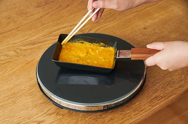 【インテリア雑貨特集】ambai 玉子焼 角小 | ambaiの鉄製卵焼き器