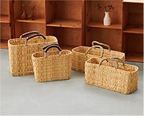 【インテリア雑貨特集】松野屋 ストローカゴ | 豊富なサイズで使い方は自由自在