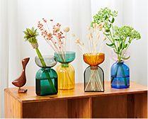 【インテリア雑貨特集】amabro TWO TONE VASE Circle | レトロモダンな2トーンの花瓶