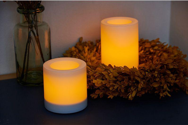 【インテリア雑貨特集】DI CLASSE LEDキャンドル Lunga ルンガ(シェード無し) | 自動点灯機能がついたキャンドル代わりにもなるLEDライト
