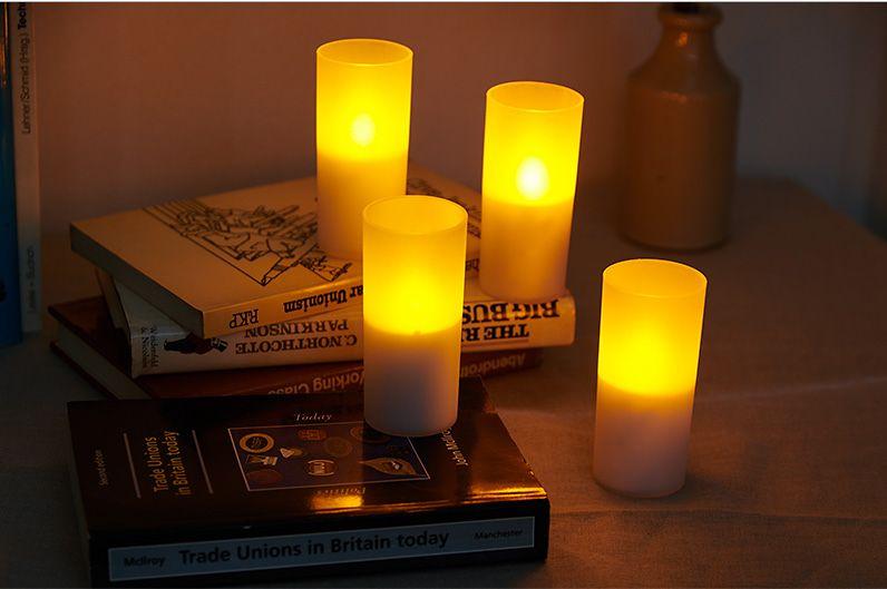 【インテリア雑貨特集】DI CLASSE LEDキャンドル CUORE | ふっと息を吹きかけると消灯する本物のろうそくそっくりなライト