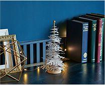 【インテリア雑貨特集】FABULOUS GOOSE Nordic モミの木 スタンド型 キット | パーツを一つずつ組み立てて作るホワイトツリー
